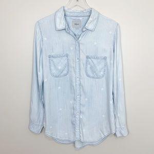 Rails | Carter Light Vintage Star Shirt Chambray